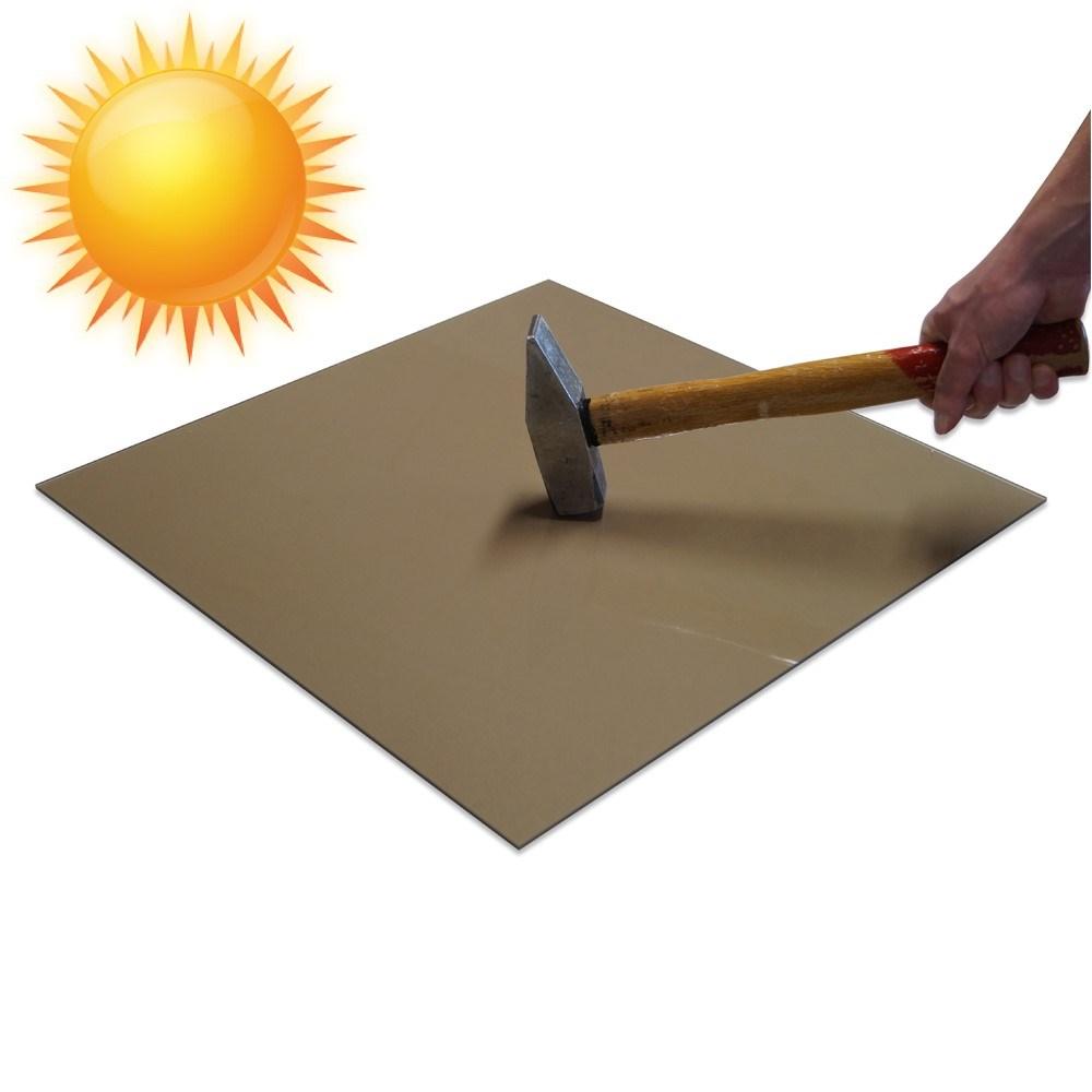 brun r gfarvet brudsikker polycarbonat er uv beskyttet. Black Bedroom Furniture Sets. Home Design Ideas