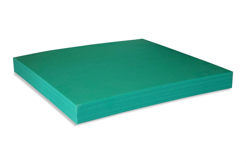 Berømte Grøn PE-Skum. Velegnet til termisk isolering. Skæres på mål. AK24