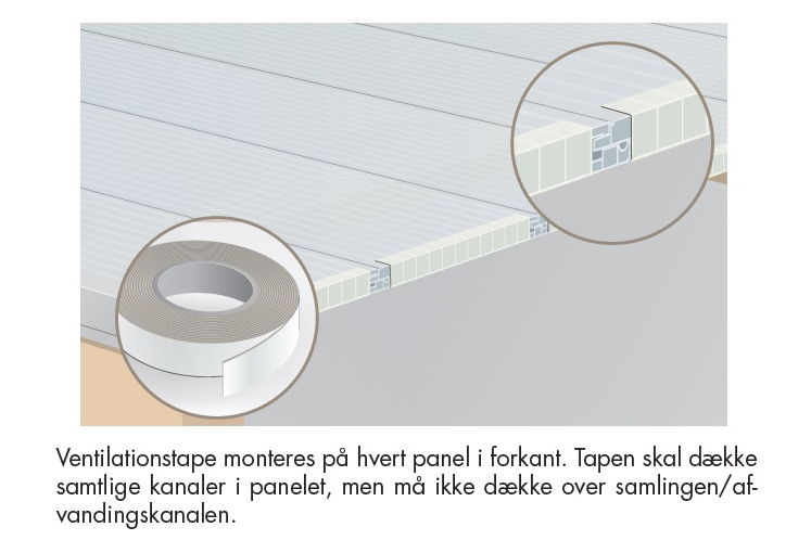 Ventilationstape 7,5m Click-Step
